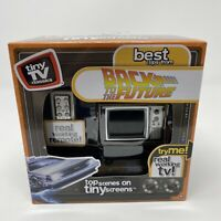 Tiny TV Classics: Back to the Future Real Working Mini TV with Remote NEW $45.55