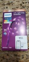 Philips Smart Wi Fi Accessory 3 Ft. 800 lm Extension Led Brand New WiZ Connected $27.99