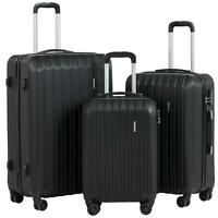 3Pcs set Travel Carry Luggage Carry On Suitcase w Spinner Wheelsamp;Lock 20 24 28quot;