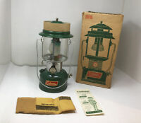 NOS NEW Coleman 2 Mantle Lantern 220F195 220F 228F 1969 In Box NEVER FIRED
