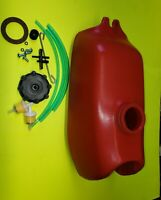 HONDA ATV 3 WHEELER RED GAS FUEL TANK ATC70 NEW 1973-1985 MODELS INCLUDES CAP