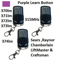 New Comp 371LM LiftMaster Sears Chamberlain Remote 373lm 370lm USA Seller 3PK $21.00