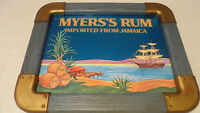 RARE VINTAGE  MYERS'S RUM JAMAICA NAUTICAL BEER MIRROR SIGN ONLY 1 ON EBAY