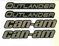 CAN AM OUTLANDER MUDGUARD DECAL KIT 704904338
