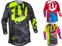 Fly Racing Kinetic Outlaw Jersey Adult & Youth MX/ATV/BMX/MTB Riding Gear Shirt