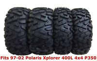 Set 4 WANDA ATV tires 25x8-12 & 25x11-10 for 97-02 Polaris Xplorer 400L 4x4 P350