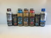 Monster Energy Drink Caffe, Muscle And Espresso Lot. Total 7 Full Units Lot