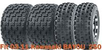 Full Set Sport ATV tires 21x8-9 & 22x10-10 for 03-11 Kawasaki BAYOU  250