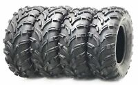 Set of 4 WANDA ATV tires 25x8-12 25x8x12 Front & 26x10-12 26x10x12 Rear 6PR P373