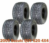 Set of 4 Utility ATV tires 23x11-10 for 2005 Suzuki QUV 620 4X4 High Load Cap