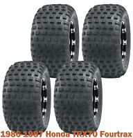 Full Set Sport ATV tires 16x8-7 for 1986-1987 Honda TRX70 Fourtrax