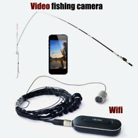 HD 1080P WIFI Video Fish Finder camera System underwater 8pcs Infrared Fish Cam