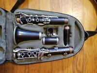BUFFET CRAMPON R13 with BAM X LIGHT BAG and TWO VANDOREN MOUTHPIECES