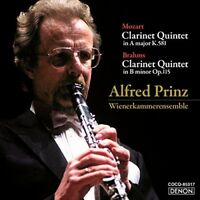 Alfred Prinz - Mozart & Brahms: Clarinet Quintets [New CD] Japan - Import