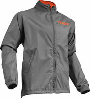 Thor Mens Charcoal/Orange Pack Dirt Bike Jacket MX ATV 2019