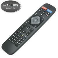 New Smart TV Remote Control for Philips with Netflix Vudu Youtube Keys 50PFL5602 $7.65