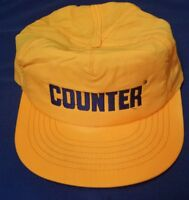 VINTAGE SNAPBACK FARM AG AGRICULTURE PROMO HAT CAP COUNTER HERBICIDE