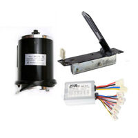 1000W 48V electric Brushed motor controller & Foot Pedal Throttle atv bicycle