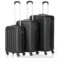 3x Travel Spinner Luggage Set Bag ABS Trolley Carry On Suitcase wTSA US