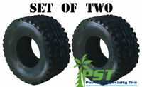 SET OF TWO 23x11.00-10 23x11-10 DURO K968 ATV TIRE OE Mule replace Dunlop KT869