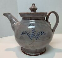 Billy Ray Hussey TEAPOT Owens Pottery Seagrove, NC Signed LOCAL PICK UP ONLY!!