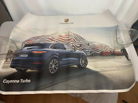 2019 Porsche Cayenne Turbo Poster 30 x 40 Box of 25 Posters