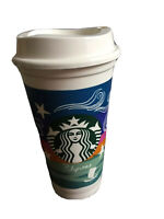 NEW 2018 Starbucks Philippines Vinta Reusable Cup w Lid Grande 16 oz No Card