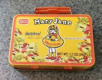 Used 2007 Mary Jane Candy Necco Metal Tin Lunch Box Molasses And Peanut Butter