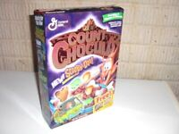 Vintage 1999 COUNT CHOCULA Scooby Doo offer Cereal Box General Mills