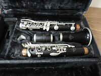 Normandy 4 Bb Wooden Clarinet