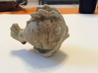 Singed Nantucket Old Spouter Pottery  Fish