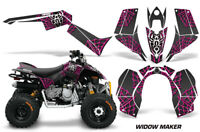 ATV Graphics Kit Quad Decal Sticker Wrap For Can-Am DS90 2007-2018 WIDOW PNK BLK