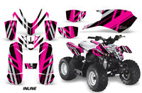 ATV Graphics Kit Quad Decal Sticker Wrap For Polaris Outlaw 50 08-18 INLINE PINK