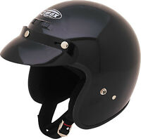 Gmax GM2 Adult & Kid's Black DOT 3/4 Open Face ATV Motorcycle Riding Helmet