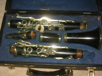 Old wooden Bb   Clarinet