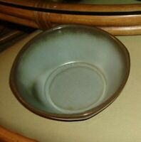 FRANKOMA Clay Pottery Woodland Moss Blue/Brown  12 pc. Set