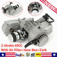 49cc 2Stroke Pull Start Engine Motor Mini Dirt Bike ATV Air Filter Gear Box New