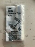 Set of 6 3M 2209 Disposable Anti-Static Wrist Strap Grounding IN BAG SEALED