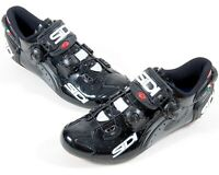 Sidi Wire Carbon Vent Cycling 3 Bolt Sole Black Bike Shoes EU 40