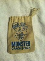 Vintage Monster Cereal Crayon Pouch Boo Berry Count Chocula Frakenberry