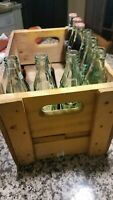 VINTAGE YELLOW COCA COLA CRATE.BOTTLES NOT INCLUDED.
