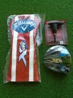 NEW Callaway XR 16 Driver Head 9 Degree With Head Cover and Wrench Right Hand