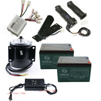 Brushed 500W 24V Motor Controller Throttle Grip Foot Pedal Battery Charger ATV