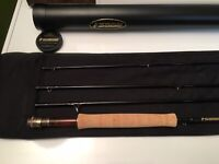 Sage One 9ft 6wt (690-4) 4pc Factory Fly Rod w Original Tube and Rod Sock