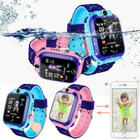Anti lost Smart Watch GPS Tracker SOS Call GSM SIM Touch Screen For Children Kid $16.41
