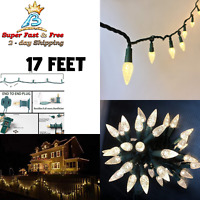 186 Feet 200 LED Warm White Christmas Tree Lights Indoor Outdoor Decor Garden