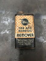 Vintage Whiz Tar and Road Oil Remover Old Automotive Advertising