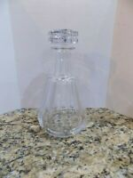 SIGNED BACCARAT Solid Crystal  DECANTER W STOPPER (Tallyrand)~France
