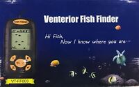 Venterior Portable Fish Finder, Water Depth & Temperature Fish Finder -New Other