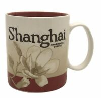 2008 Starbucks City Coffee Mug Cup Shanghai Collector Series